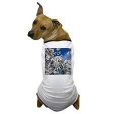 Bradford Pear Blooms Dog T-Shirt