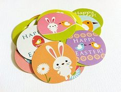Spring Easter Stickers - Set of 50