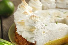 Unique et délicieuse...la tarte à la lime (la célèbre Key lime pie)