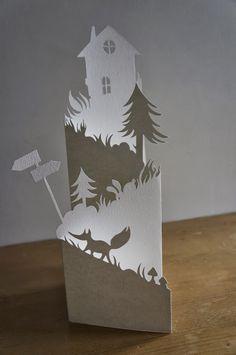 découpe de papier - Mahaut Lemoine (France)