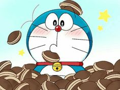 Doraemon with his favorite duruyaki Doremon Cartoon, Cartoon Drawings, Cartoon Characters, Doraemon Wallpapers, Cute Cartoon Wallpapers, Cute Love Cartoons, Computer Wallpaper, Manga Anime, Cute Pictures