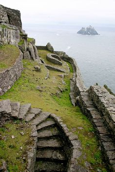 Monastic settlement, Skellig Michael, County Kerry, Ireland