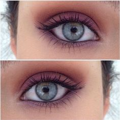 I don't like a lot of make-up fake eyelashes unless it's Halloween Gorgeous simple Blue eyes Makeup Goals, Makeup Inspo, Makeup Inspiration, Makeup Tips, All Things Beauty, Beauty Make Up, Tutorial Contouring, Pretty Makeup, Skin Makeup