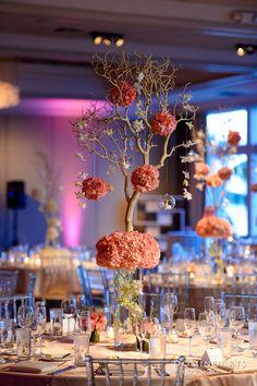 Gorgeous #floral #arrangements for Paulynn & Stephane's #wedding at…