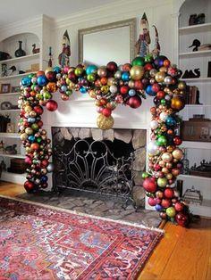 Hermosas+ideas+para+decorar+con+esferas+en+Navidad