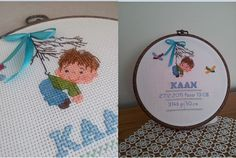 Cross Stitch Rose, Cross Stitch Baby, Baby Cross Stitch Patterns, Baby Patterns, Hand Embroidery Videos, Cross Stitching, Needlework, Projects To Try, Diy Crafts
