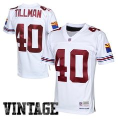 Mens Arizona Cardinals Pat Tillman Mitchell & Ness White 2000 Retired Player Vintage Replica Jersey #AZCardinals #NFLStyle