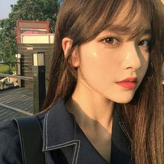 Discover and share the most beautiful images from around the world - Beauty Home Pretty Korean Girls, Korean Beauty Girls, Cute Korean Girl, Asian Beauty, Asian Makeup Natural, Beauty Makeup, Hair Makeup, Hair Beauty, Model Tips