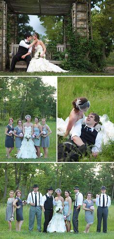 vintage #wedding....my best friends wedding simply adorable