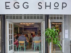 Breaking a Few Rules at the Lower East Side's Egg Shop - Eater NY