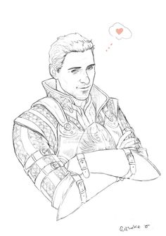 50 Best Video Game Coloring Book Images Dragon Age Games Cullen