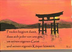 Text: Thich Nhat Hanh Gemälde: D.P.