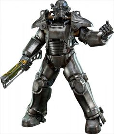 PRE ORDER THREEZERO Fallout 4 1/6 Scale T-45 Power Armor Action Figure Japan…