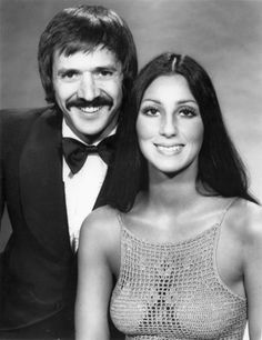 Sonny & Cher were an American pop music duo, actors, singers and entertainers made up of husband-and-wife team Sonny and Cher Bono in the 1960s and 1970s. Description from imgarcade.com. I searched for this on bing.com/images