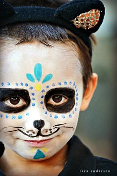makeup day of the dead for kids - Google Search