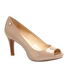 155ef90b3def Bridesmaid shoe Calvin Klein Kyle Pumps  Dillards Work Heels