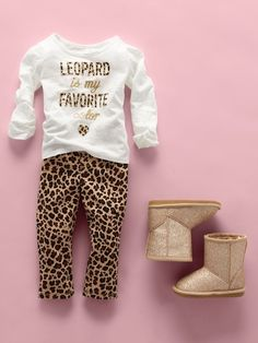 """""""Leopard is my favorite color"""" 