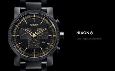 Nixon - Team-Designed, Custom-Built.