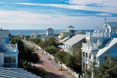 Seaside, FL  When we moved to Florida in 1987 the population of Seaside was 284!