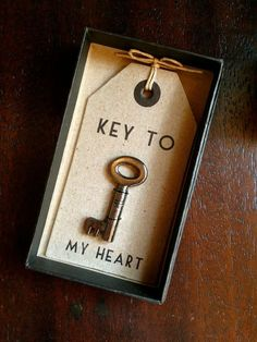 Key to my Heart | Christmas Gifts for Boyfriend DIY Cute
