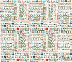 I Heart Tulsa fabric by image_crafts on Spoonflower - custom fabric