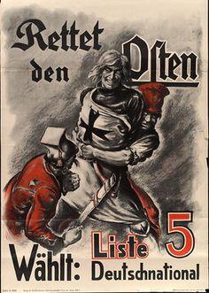 Rettet den Osten - Wählt: Liste 5 - Deutschnational
