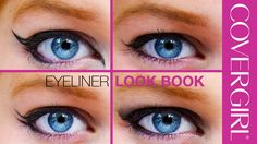 CoverGirl Cosmetics : How to Apply Eyeliner: 5 Eye Makeup Ideas | COVERGIRL & BeautyPolice101 (Sept 2015)