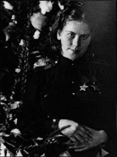 Last photograph taken of Roza Shanina during New Year Celebrations before she died on January 28th, 1945 from wounds received the previous day.My favorite photograph of the very beautiful & skilled Russian Sniper!