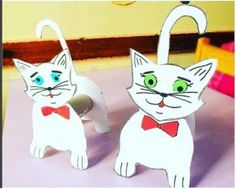 Toilet paper roll animals craft idea for kids   Crafts and Worksheets for Preschool,Toddler and Kindergarten