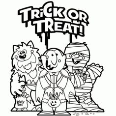 Silly Ghost Coloring Page