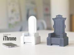 iThrone the almighty iphone dock and sound amplifier