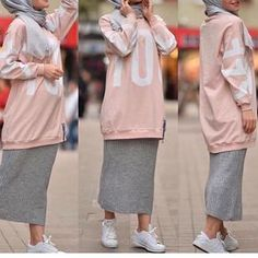 Modern Hijab Fashion, Street Hijab Fashion, Abaya Fashion, Muslim Fashion, Modest Fashion, Fashion Outfits, Hijab Style, Hijab Chic, Casual Hijab Outfit