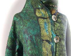 Blaue Nuno corded Halskette als SugarPlum von sugarplumoriginals