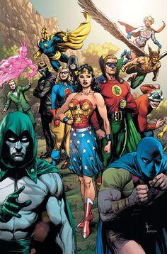 Dc Comics Heroes, Arte Dc Comics, Dc Comics Characters, Dc Comics Women, Cat Comics, Death Metal, Justice Society Of America, Dc Comic Books, Comic Art