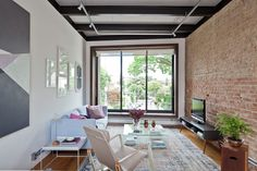 Image 25 of 25 from gallery of CA House / SuperLimão Studio. Appartement Design, Interior Architecture, Interior Design, Residential Architecture, Small Modern Home, My Ideal Home, Exposed Brick Walls, Industrial House, Small Apartments