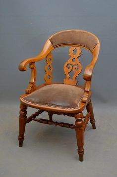 Antique and Vintage Chairs, Sofas and Seating - For Sale at Antique Furniture For Sale, Vintage Furniture, Victorian Office Chairs, Blue Velvet Dining Chairs, Blue Chairs, High Chairs, Womb Chair, Swivel Chair, Kitchen Chair Cushions