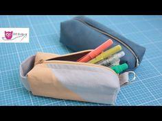 Stiftemäppchen nähen: Back to School – DIY Eule - YouTube