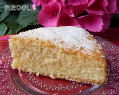 G_teau_au_coco__11_ Desserts With Biscuits, No Cook Desserts, Sweet Desserts, Vegan Desserts, Bon Appetit, Vanilla Cake, Coconut, Gluten, Cooking