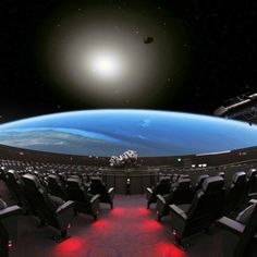 The Planetarium @ Museum of Science in Boston. I remember the awesome classic rock show I saw in this planetarium one night many years ago. Love my Boston memories!