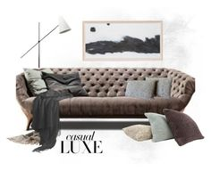 """Living Room"" by jill-bh ❤ liked on Polyvore featuring interior, interiors, interior design, home, home decor, interior decorating and living room"