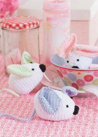 Free Crochet mouse pattern.