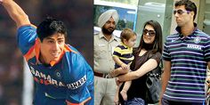 Delhi's pace sensation Ashish Nehra's wife Rushma is too hot to handle. The two, who met in London, have been married since 2009 and have a son Arush. Today In Pictures, Sons, Two By Two, Handle, London, Couple Photos, Couples, Couple Shots, My Son