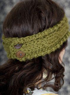 Cabled Knit Headband