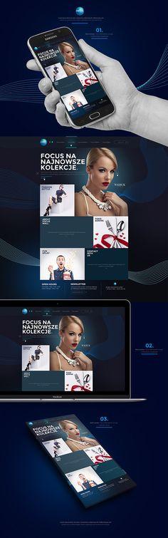 Mall Website concept by Dawid Bogucki