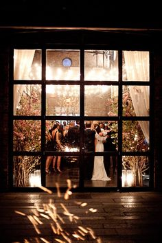 love the idea of a pic through the window