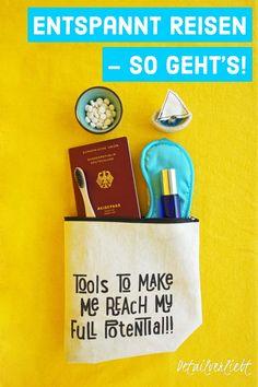 www.detail-verliebt.de: Entspannt #Reisen und optimal vorbereiten auf Langstreckenflug, lange Autoreise oder lange Bahnreise: Tipps um entspannt, gesund und fit bleiben im #Urlaub. #unterwegs #selfcare #zerowaste #urlaub #entspanntreisen Aloe Vera, Peeling, Skin Care, Zero Waste, Tricks, Routine, Places, Homemade Cosmetics, Best Skincare Products