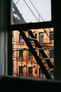 Image result for fire escape window