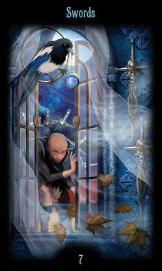Seven of Swords | Step into a lost world from long ago . . .… | Flickr
