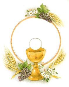 For a First Communion card First Communion Decorations, First Communion Cards, Première Communion, First Holy Communion, Spoon Ornaments, Blessed Sunday, Communion Invitations, Gold Work, Scrapbook Embellishments