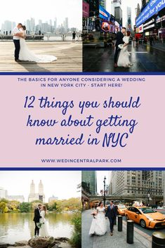 12 things to know about getting married in New York City Top Wedding Trends, Fall Wedding, Dream Wedding, Wedding Advice, Wedding Planning Tips, Wedding Ideas, Wedding Stuff, Things To Know, How To Memorize Things